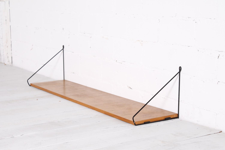String Wandregal vintage string ära wandregal metall rüster 1960er hans hans