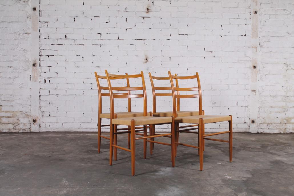 4er Set Mid Century Design Esszimmer Stühle Von Yngve